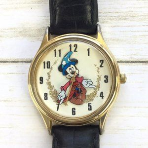 Disney Store Raised Merlin Mickey Mouse Watch NEW